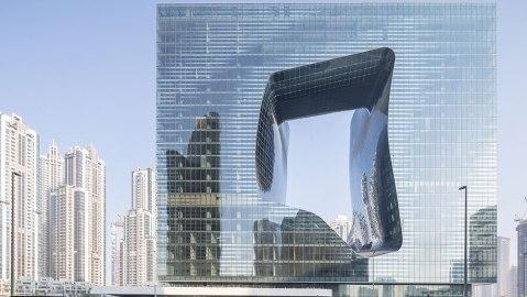 """Zaha Hadid Architect's """"the Opus"""""""