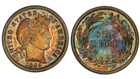 Rare 1894 S Dime