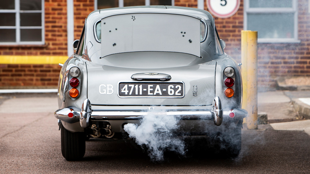 James Bond's 1965 Aston Martin DB5 from Thunderball.