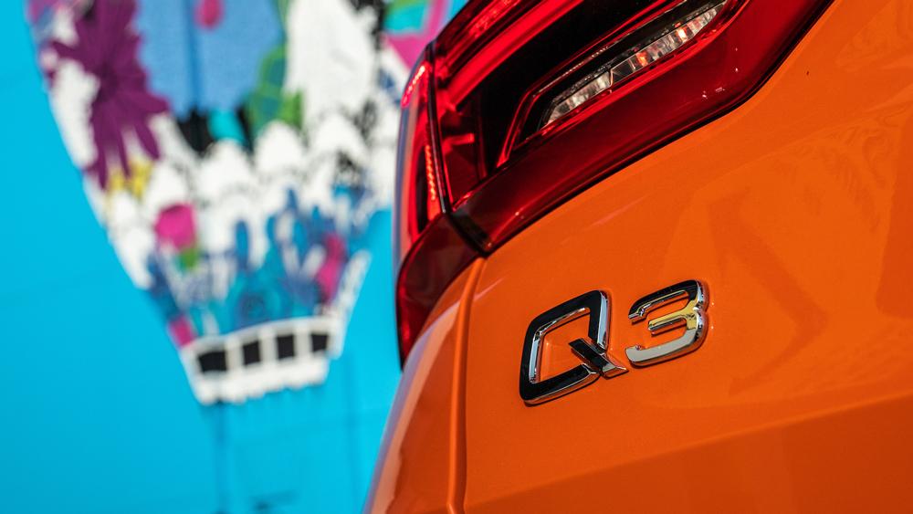 The 2019 Audi Q3.