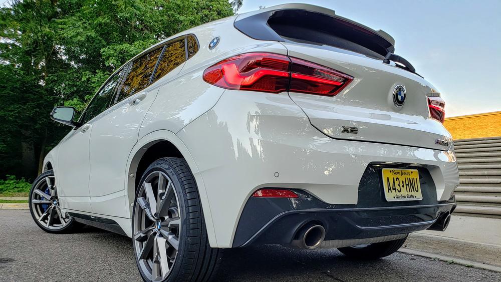 The BMW X2 M35i.