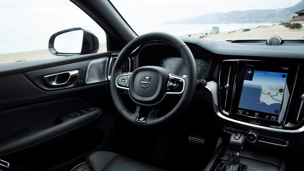 The 2019 Volvo S60.