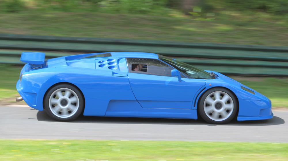 The Bugatti Centodieci.