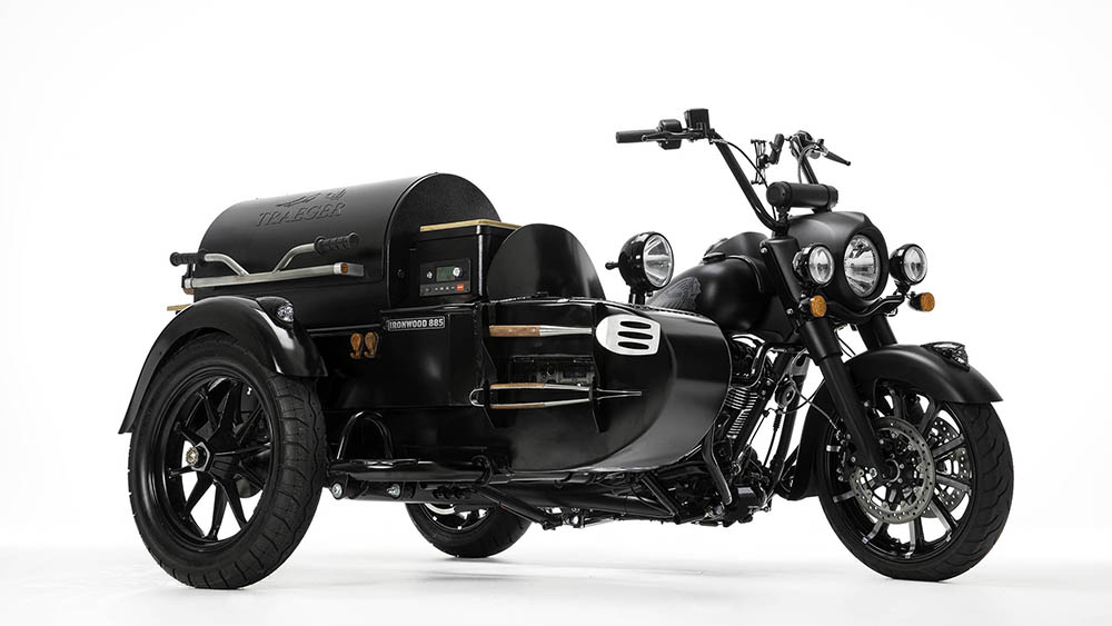 Indian Motorcycle x Traeger Wood-Fired Grills Custom Bike by See See Motorcycles