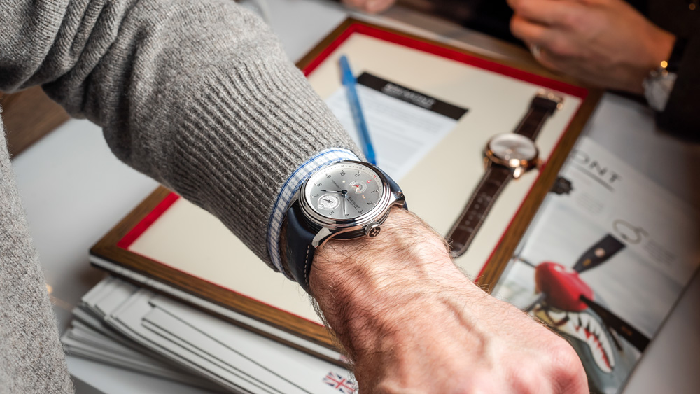 Bremont Wrist Shot at WatchTime