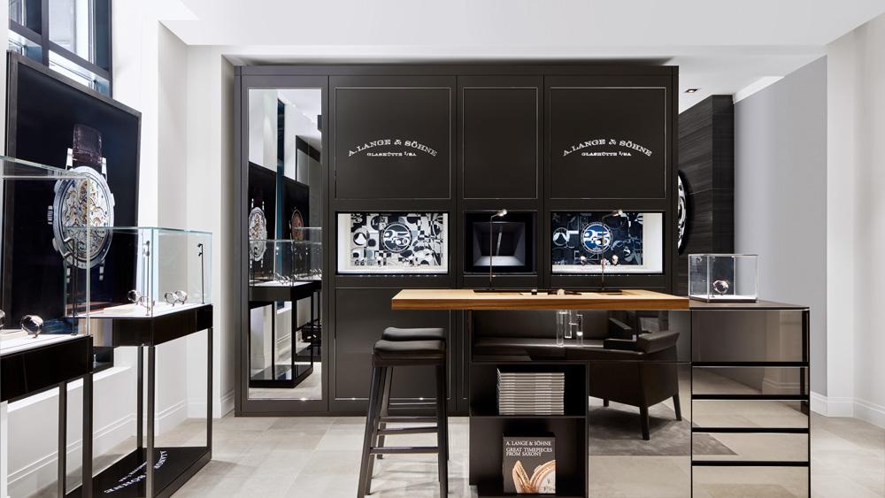A. Lange & Söhne Chicago Boutique Interior