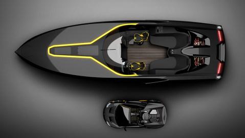 Officina Armare Design's A43 Speedboat