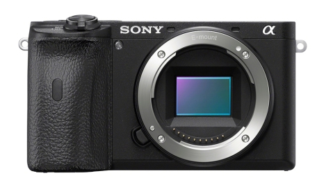 The Sony Alpha 6600 APS-C mirrorless camera