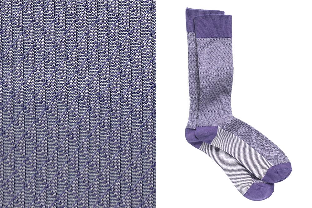 A pair of Johnson silk-blend socks from Ace & Everett