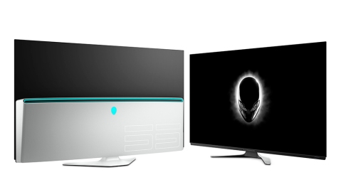 The Alienware 55 OLED Gaming Monitor