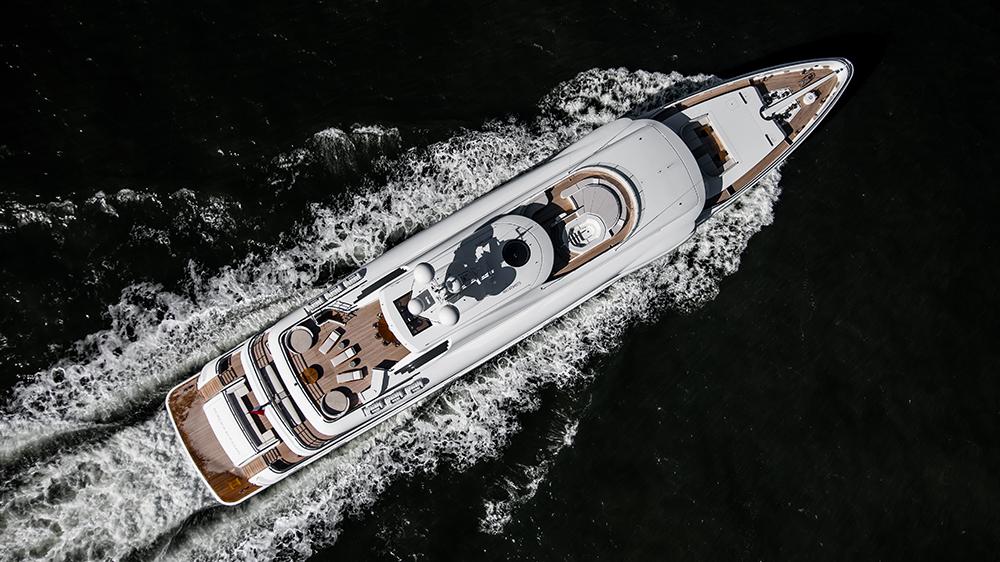 Amels' 220-foot yacht Aurora Borealis