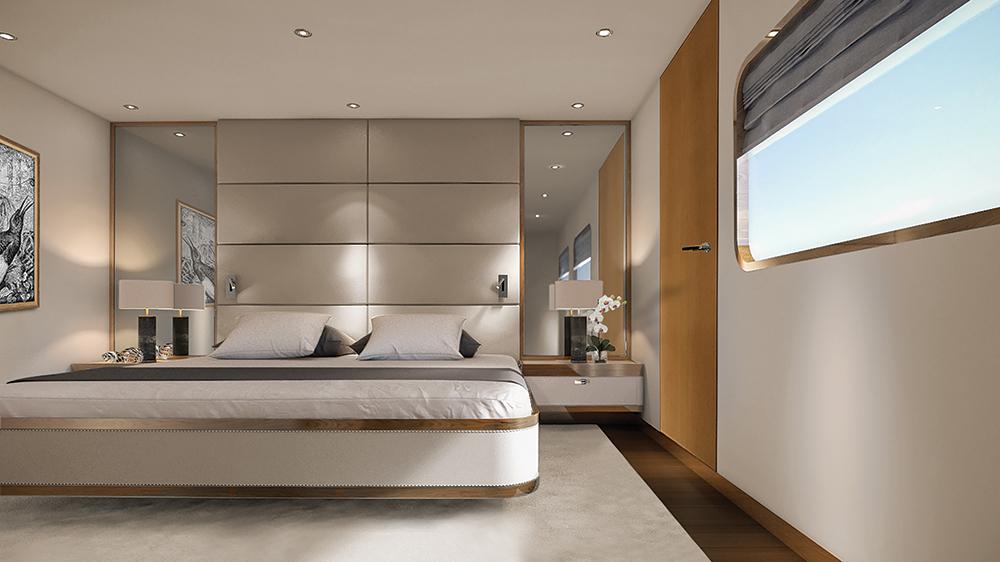 The Bridge Deck Suite on Aqua Expeditions long-range luxury yacht Aqua Blu