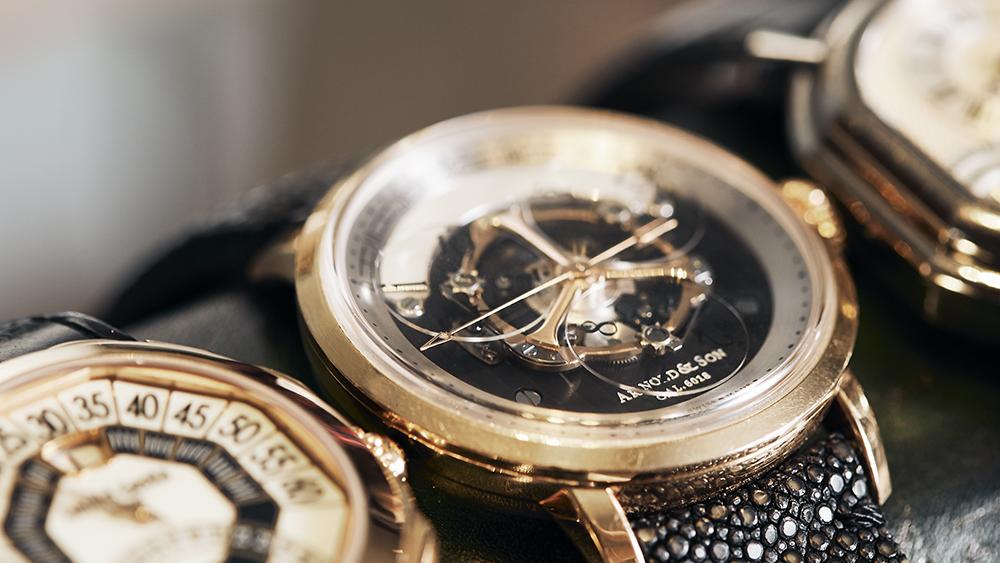 Arnold Son Golden Wheel