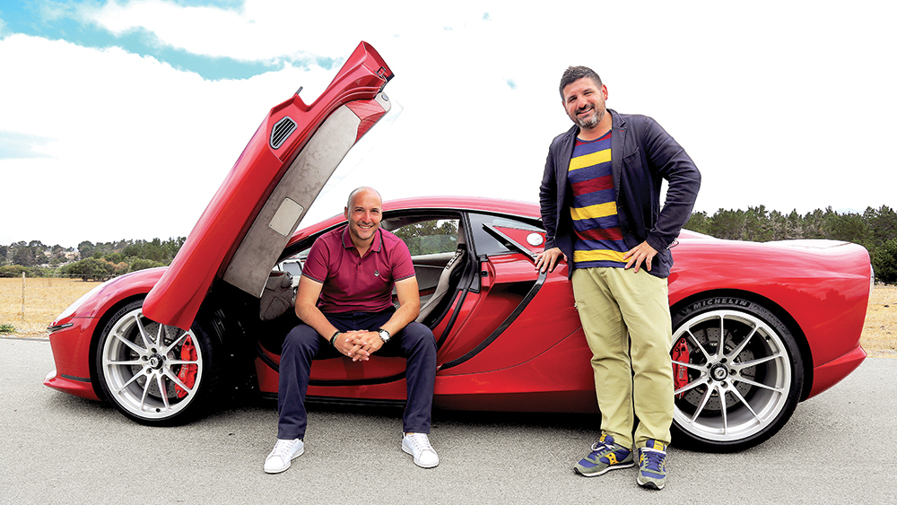 Emanuele Bomboi, left, and Daniele Maritan, the principals behind ATS's revival