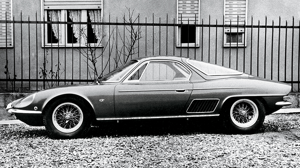 The first ATS 2500 GT from 1963