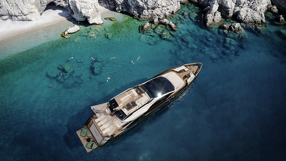 Azimut's 94-foot yacht Grande S10