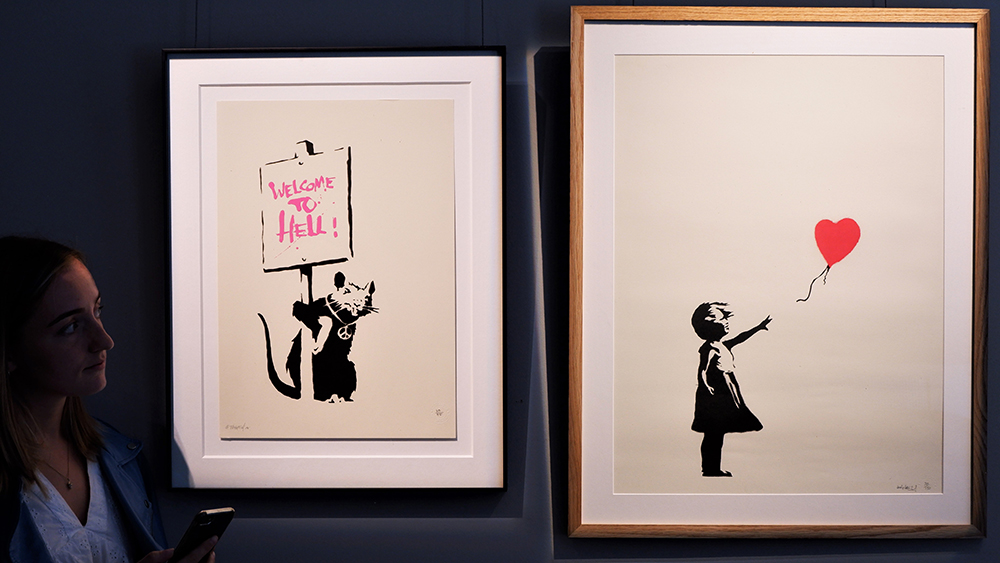 Banksy Auction at Sotheby's