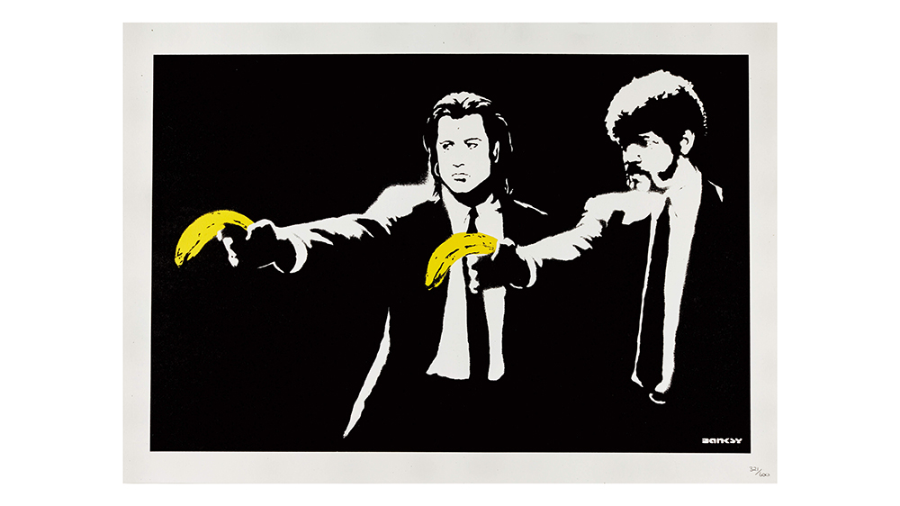 Banksy's Pulp Fiction