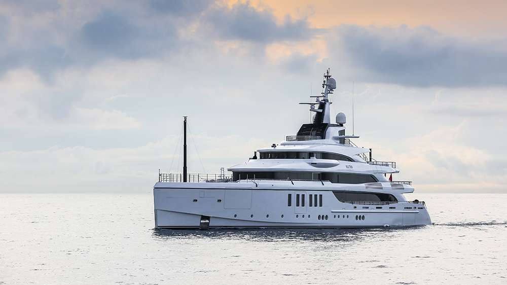 Benetti's 207-foot yacht Metis