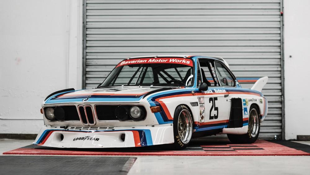 1974 BMW 3.5 CSL IMSA, chassis no. 2275987