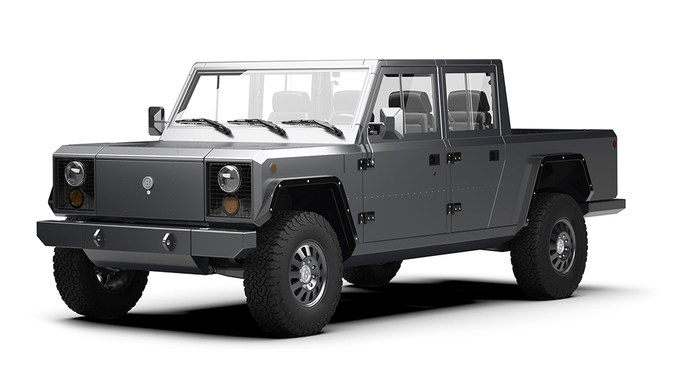 The Bollinger B2 pick-up truck
