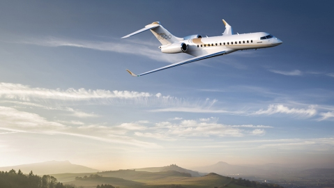 Bombardier's new Global 6500 Business Jet