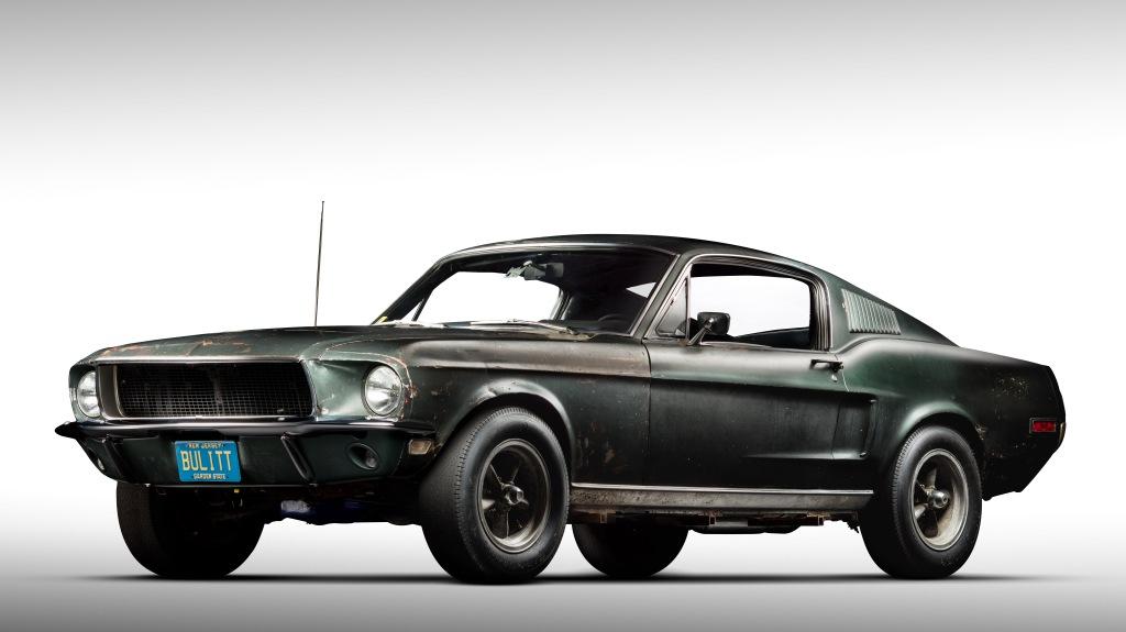 The Highland Green 1968 Mustang GT from 'Bullitt'
