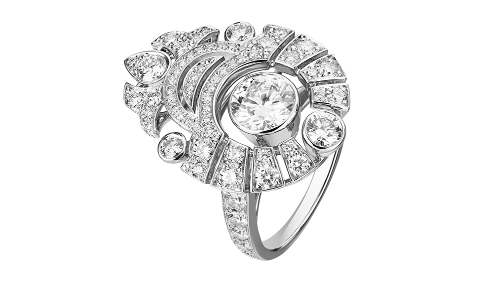 The Motif Russe ring from Chanel's new high jewelry collection: Le Paris Russe de Chanel