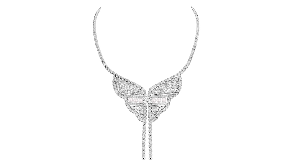 The Roubachka necklace from Chanel's new high jewelry collection: Le Paris Russe de Chanel