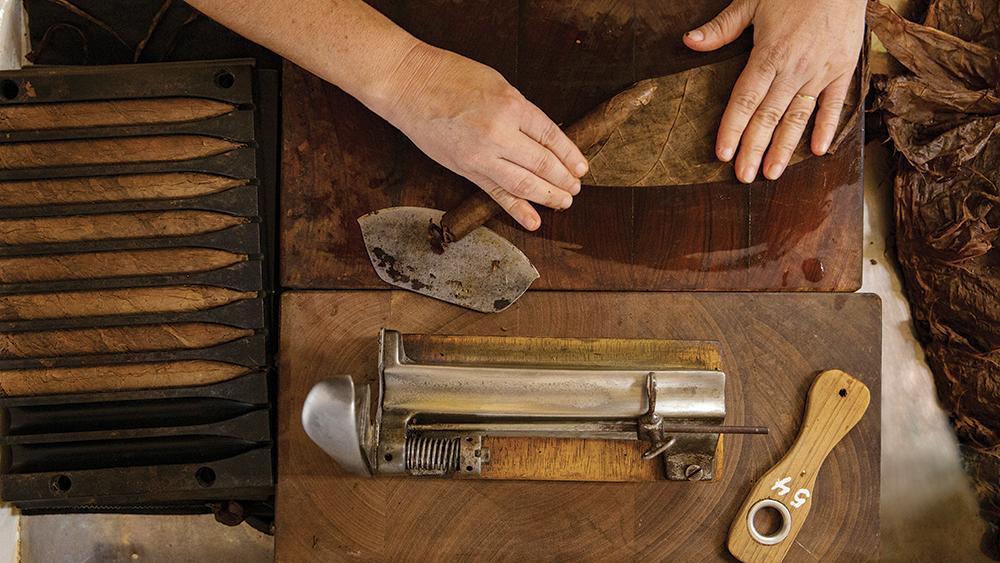 Cigar Padron factory Nicaragua.