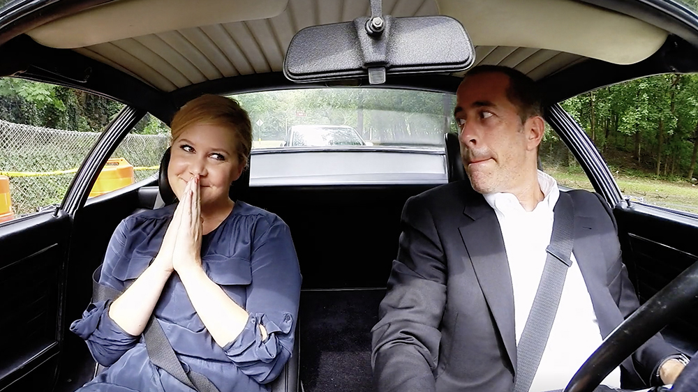 Comedians in Cars Getting Coffee Jerry Seinfeld and Amy Schumer