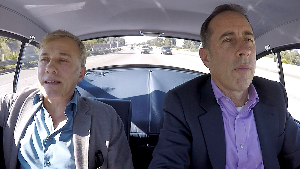 Comedians in Cars Getting Coffee Jerry Seinfeld and Christoph Waltz