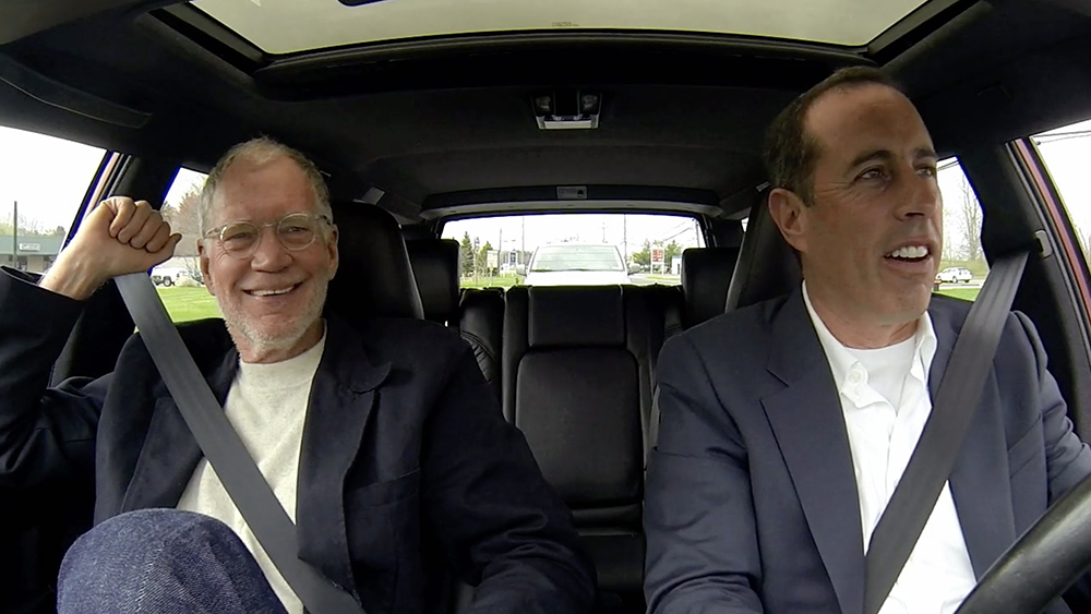 Comedians in Cars Getting Coffee: Jerry Seinfeld and David Letterman