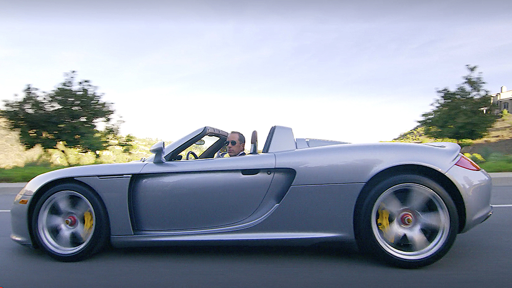 Comedians in Cars Getting Coffee Jerry Seinfeld, Eddie Murphy and 2004 Carrera GT