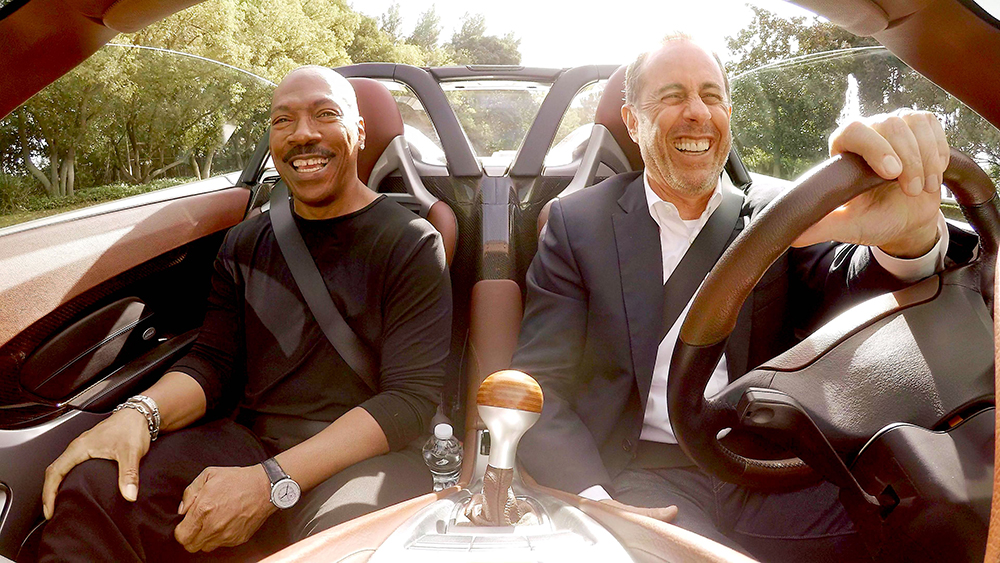 Comedians in Cars Getting Coffee Jerry Seinfeld and Eddie Murphy