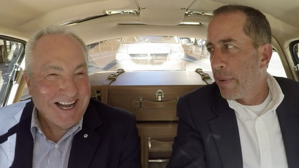 Comedians in Cars Getting Coffee Jerry Seinfeld and Lorne Michaels