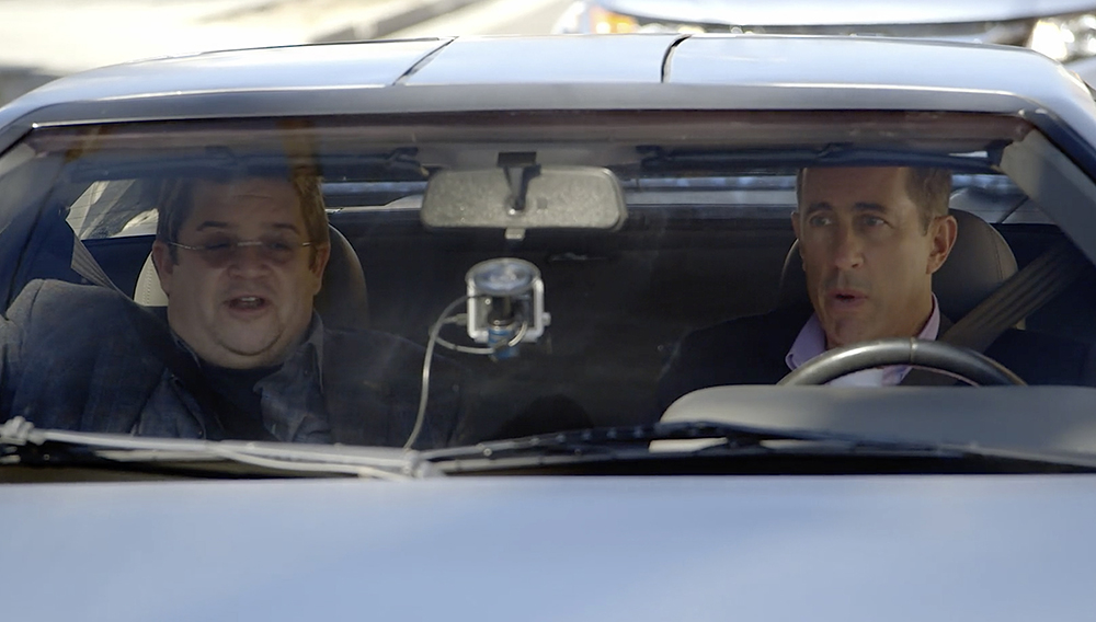 Comedians in Cars Getting Coffee: Seinfeld and Patton Oswalt