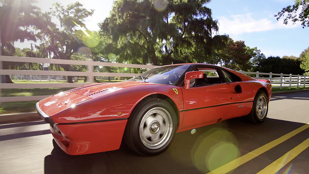 Comedians in Cars Getting Coffee Jerry Seinfeld, Tracy Morgan and 1984 Ferrari 288 GTO