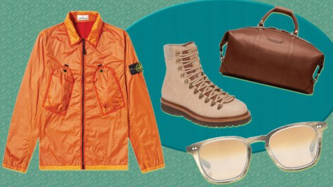 The best new menswear to buy the week of August 23, 2019, includes boots from Brunello Cucinelli, a great travel back from Korchmar, and stunning sunglasses from Mr. Leight.