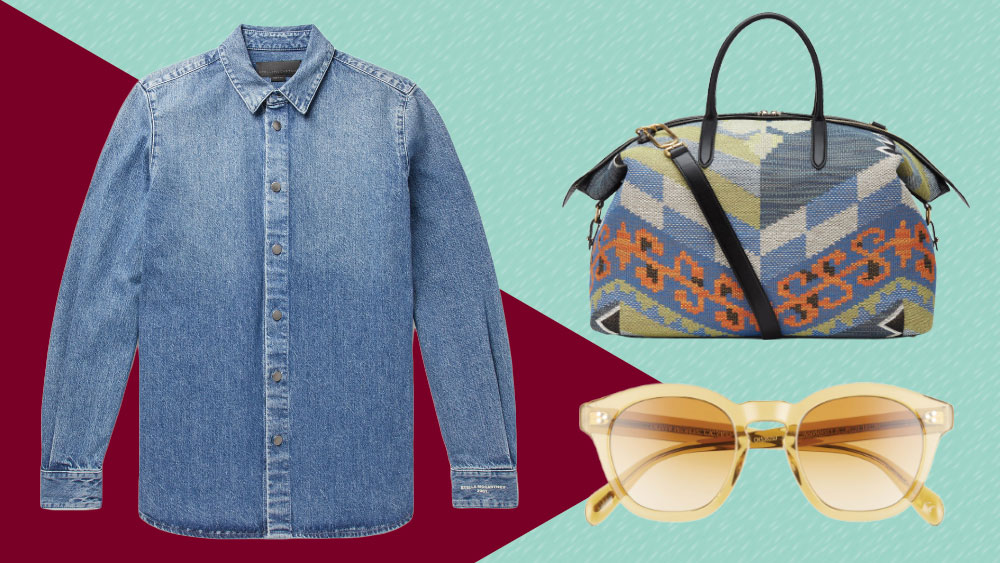 The best new menswear to buy this week includes picks from Stella McCartney, Smythson and Oliver Peoples.