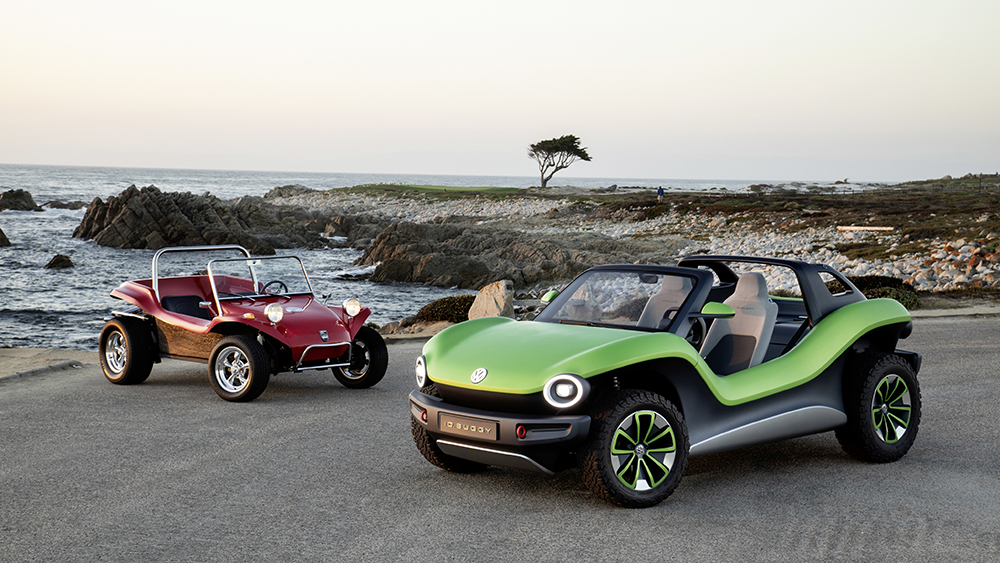 Volkswagen's new all-electric ID. BUGGY