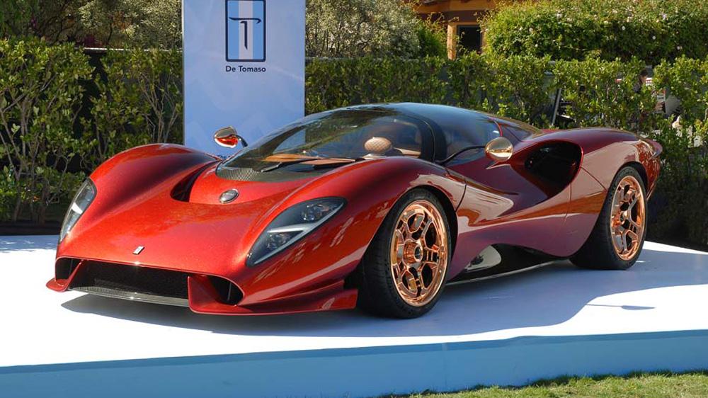 The De Tomaso P72.