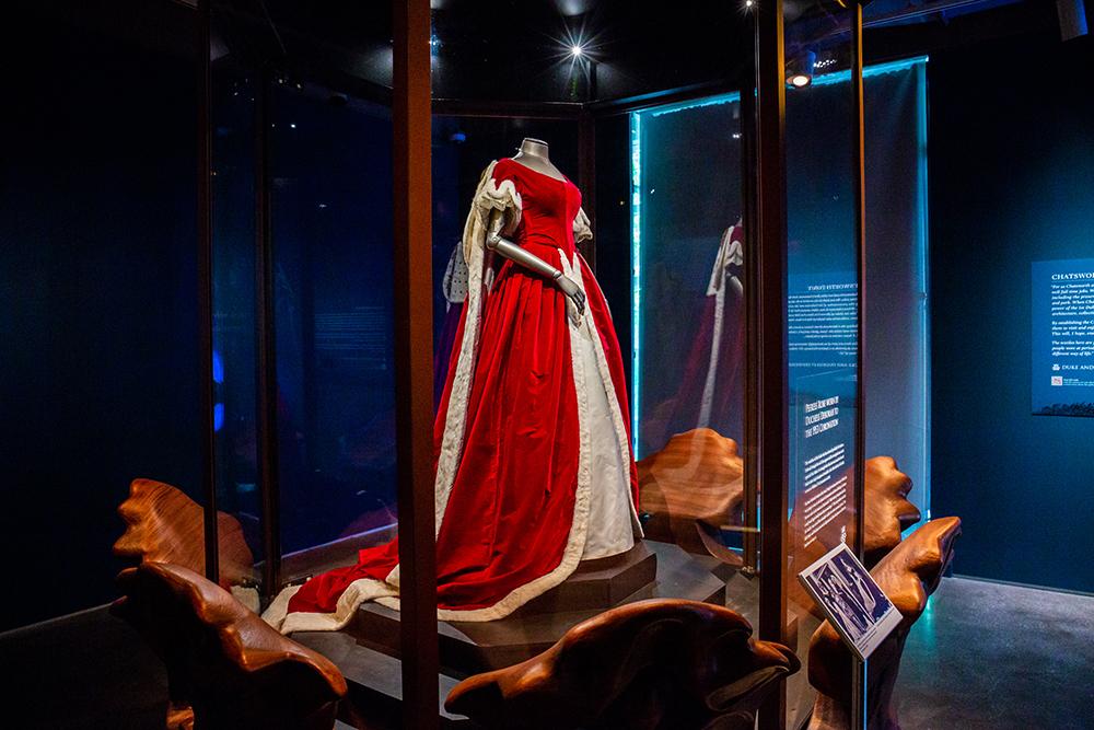 The Devonshire peeress robe.