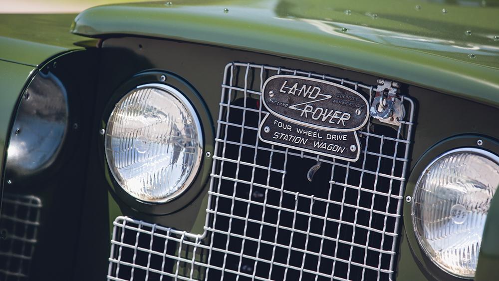 The Dalai Lama's 1966 Land Rover Series IIA 88