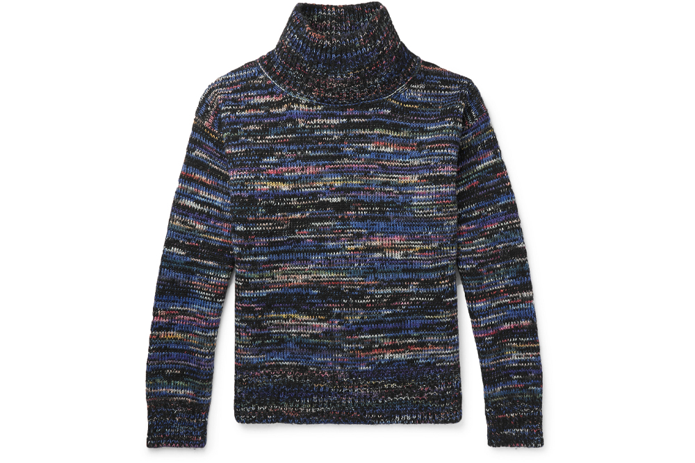 Dries Van Noten Wool Rollneck Sweater