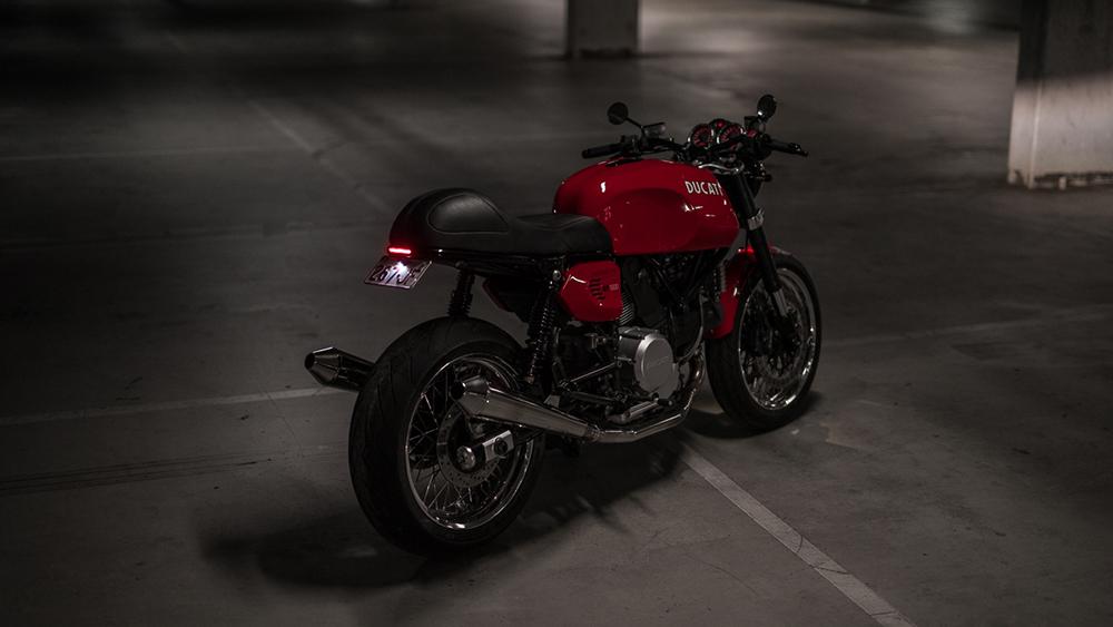 Purpose Built Moto's restyled Ducati GT1000 Café Racer
