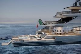 Benetti Oasis 40M superyacht