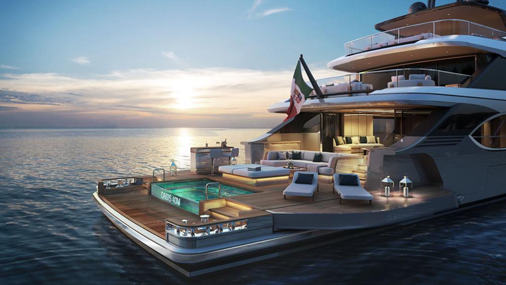 Benetti Oasis 40M superyacht RWD