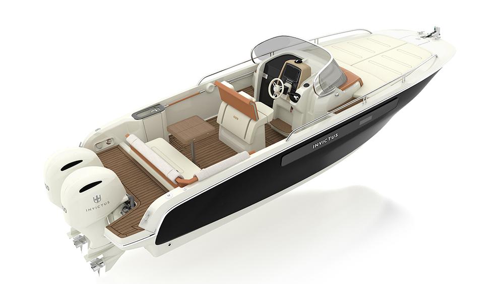 Invictus 270CX yacht World Debut