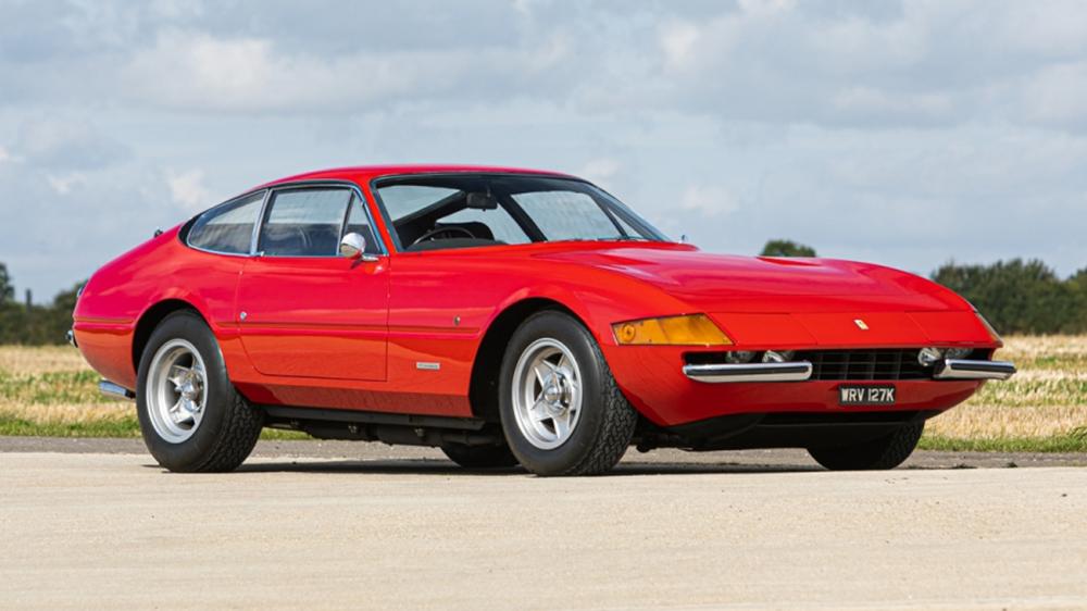 Elton John S 1972 Ferrari Gtb 4 Daytona Is Up For Sale Robb Report